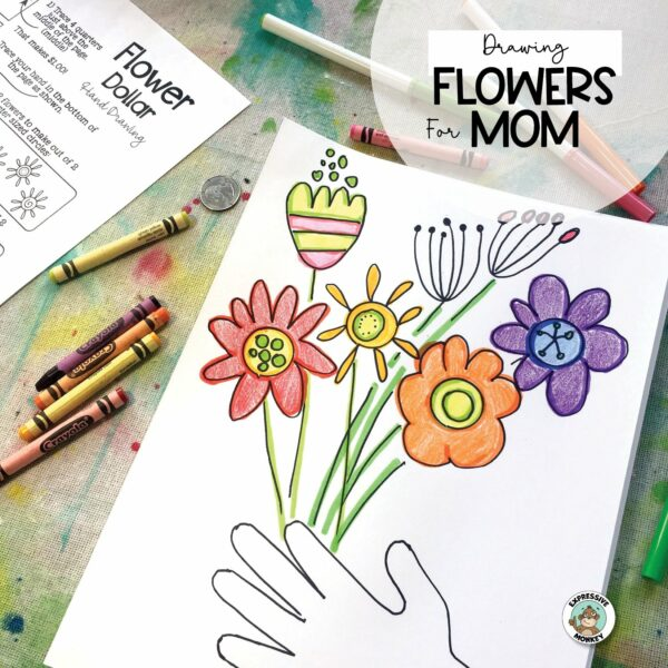 Drawing Mother's Day Flowers