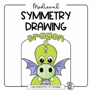Fairytale & Medieval Symmetry Drawing