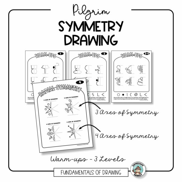 Symmetry Drawing with Pilgrims